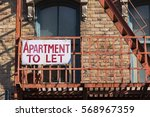 Small photo of Apartment to let - American sign