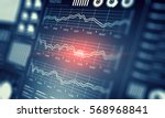 sales data and dynamics . mixed ... | Shutterstock . vector #568968841