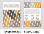 abstract vector layout... | Shutterstock .eps vector #568976581