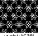 decorative wallpaper design in... | Shutterstock .eps vector #568978909