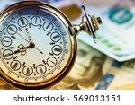 time is money | Shutterstock . vector #569013151