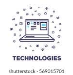 vector business illustration of ...   Shutterstock .eps vector #569015701