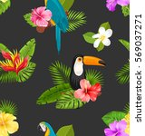 illustration seamless pattern... | Shutterstock .eps vector #569037271