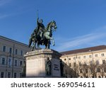 monument to king ludwig i of... | Shutterstock . vector #569054611