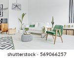 spacious  well lighted flat in... | Shutterstock . vector #569066257