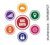 big data concept illustration | Shutterstock .eps vector #569080927