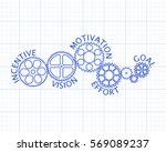 incentive  motivation  vision ... | Shutterstock .eps vector #569089237