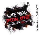 black friday  special offer ... | Shutterstock .eps vector #569094781