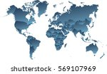 map world | Shutterstock . vector #569107969