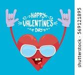 vector graphic creative happy... | Shutterstock .eps vector #569121895
