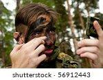 the soldiers of the bundeswehr... | Shutterstock . vector #56912443