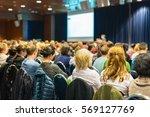 business and entrepreneurship... | Shutterstock . vector #569127769