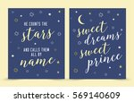 he counts the stars and calls... | Shutterstock .eps vector #569140609