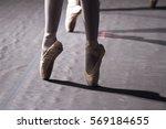 ballet shoes | Shutterstock . vector #569184655