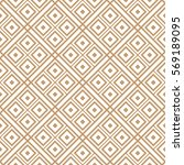 geometric seamless pattern... | Shutterstock .eps vector #569189095