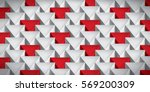 realistic texture  volume... | Shutterstock .eps vector #569200309