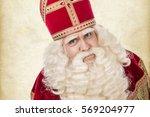 Portrait Of Saint Nicholas....