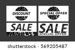 sale  special offers  discounts ...   Shutterstock .eps vector #569205487