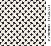 trendy monochrome twill weave.... | Shutterstock .eps vector #569207185