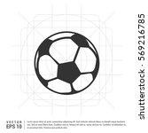 football icon | Shutterstock .eps vector #569216785