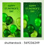 saint patrick's day vertical... | Shutterstock .eps vector #569236249