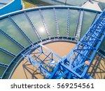 Aerial View Of Recirculation...