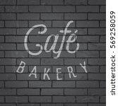 hand drawn lettering slogan on...   Shutterstock .eps vector #569258059
