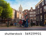 Two Lovers Person In Amsterdam...
