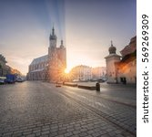 Old Town Of Krakow With St....