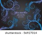 floral background | Shutterstock .eps vector #56927014