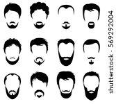 design constructor with men... | Shutterstock .eps vector #569292004