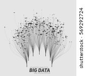 big data visualization.... | Shutterstock .eps vector #569292724