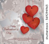valentines day | Shutterstock .eps vector #569294965