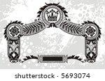 designed frame | Shutterstock .eps vector #5693074