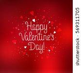 happy valentine's day...   Shutterstock .eps vector #569311705