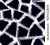 grunge geometric seamless... | Shutterstock .eps vector #569312845