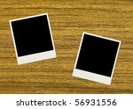clean instant photo old photo | Shutterstock . vector #56931556