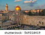 Western Wall And Golden Dome O...
