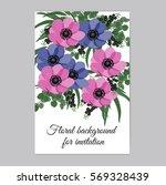 vector illustration. floral... | Shutterstock .eps vector #569328439