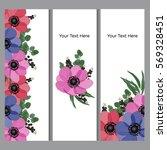 vector illustration. floral... | Shutterstock .eps vector #569328451