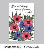 vector illustration. floral... | Shutterstock .eps vector #569328631