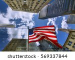 Flag Of The United States Among ...