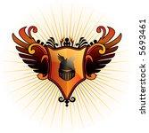 orange herald | Shutterstock .eps vector #5693461