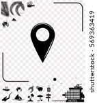 pictogram gps icon.