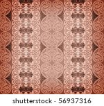 brown arabesque background - stock photo