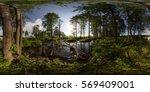 full 360 degree equirectangula...   Shutterstock . vector #569409001