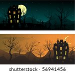 halloween banners | Shutterstock .eps vector #56941456