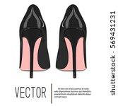 High Heels Stiletto Vector...