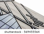 modern roof with angular... | Shutterstock . vector #569455564
