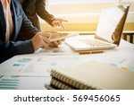 team account manager project... | Shutterstock . vector #569456065